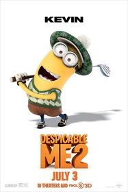 Постеры фильма «Гадкий я 2»