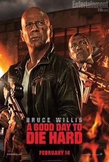 Постеры фильма «Крепкий орешек: Хороший день, чтобы умереть»