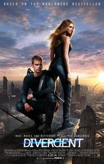 Постеры фильма «Дивергент»