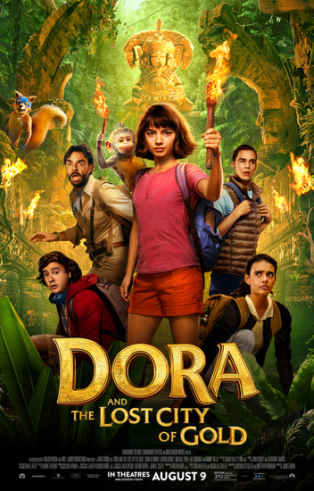 Постеры фильма «Дора и Затерянный город»