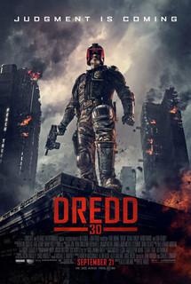 Постеры фильма «Судья Дредд 3D»