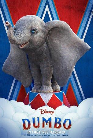 Постеры фильма «Дамбо»