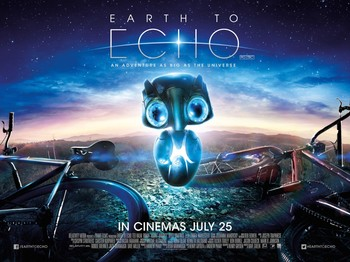 Постеры фильма «Внеземное эхо»