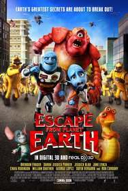 Постеры фильма «Побег с планеты Земля»