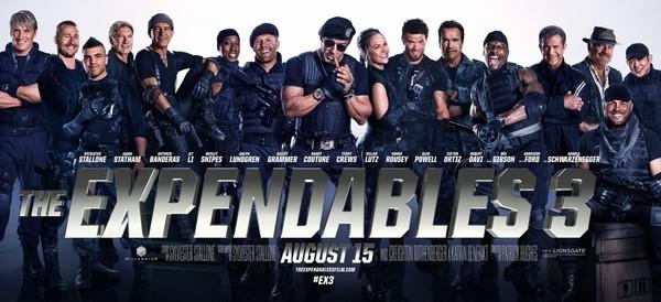 Постеры фильма «Неудержимые-3»