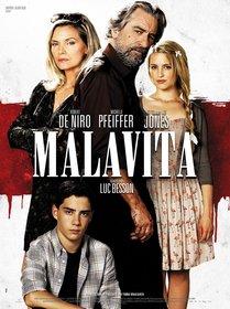 Постеры фильма «Малавита»