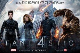 Постеры фильма «Фантастическая четвёрка»