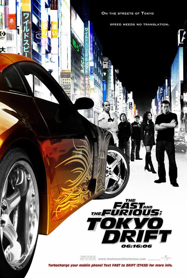 Тройной форсаж: Токийский дрифт, постер № 2