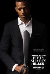 Постеры фильма «Пятьдесят оттенков чёрного»