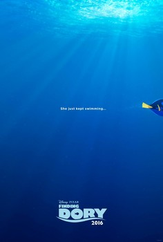 Постеры фильма «В поисках Дори»