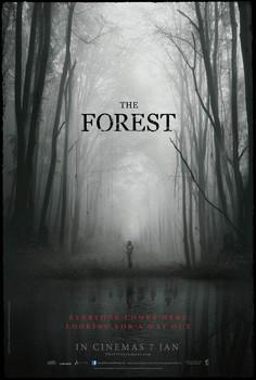 Постеры фильма «Лес призраков»