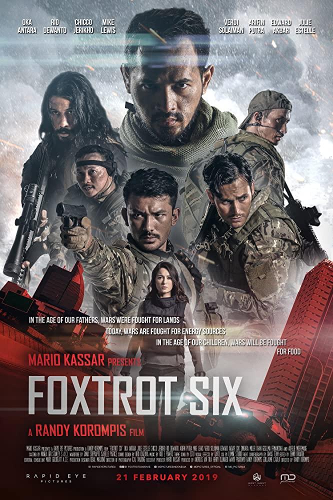 Отряд Фокстрот, постер № 2