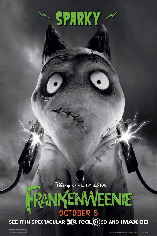 Frankenweenie Movie Tim Burton Disney Pictures of frankenweenie characters