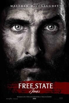 Постеры фильма «Свободный штат Джонса»