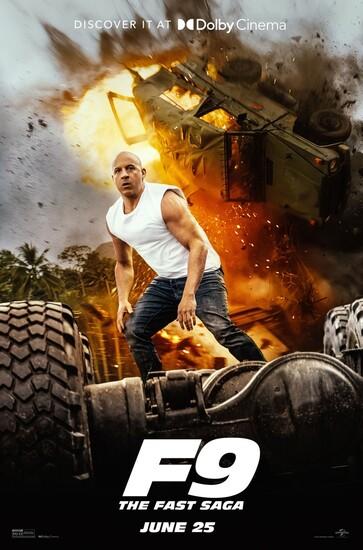 Постеры фильма «Форсаж9»