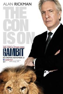 Постеры фильма «Гамбит»