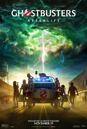 Постеры фильма «Охотники за привидениями: Наследники»