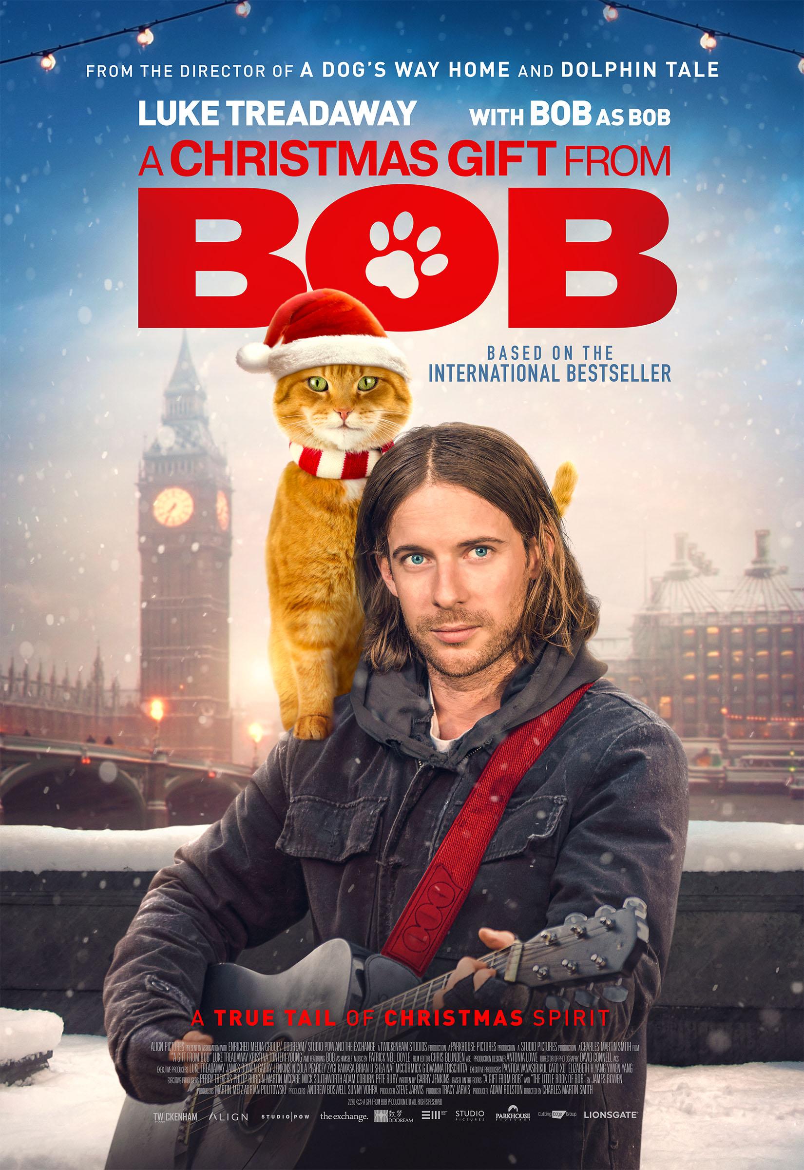 Рождество кота Боба, постер № 1