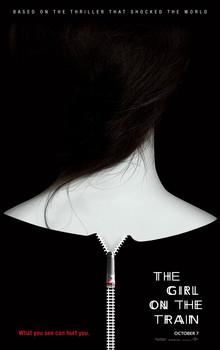 Постеры фильма «Девушка в поезде»