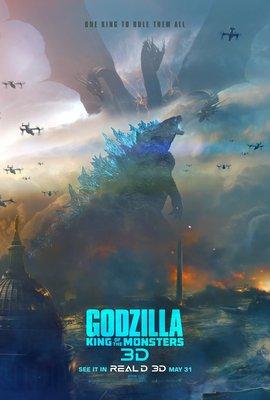 Постеры фильма «Годзилла 2: Король монстров»