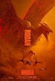 Постеры фильма «Годзилла: Король монстров»