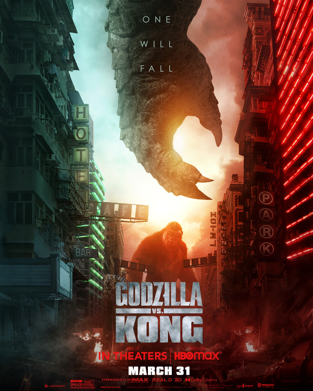 Годзилла против Конга, постер № 12
