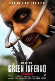 Постеры фильма «Зелёный ад»