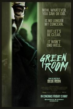 Постеры фильма «Зелёная комната»