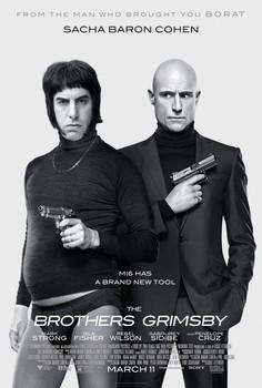 Постеры фильма «Братья из Гримсби»