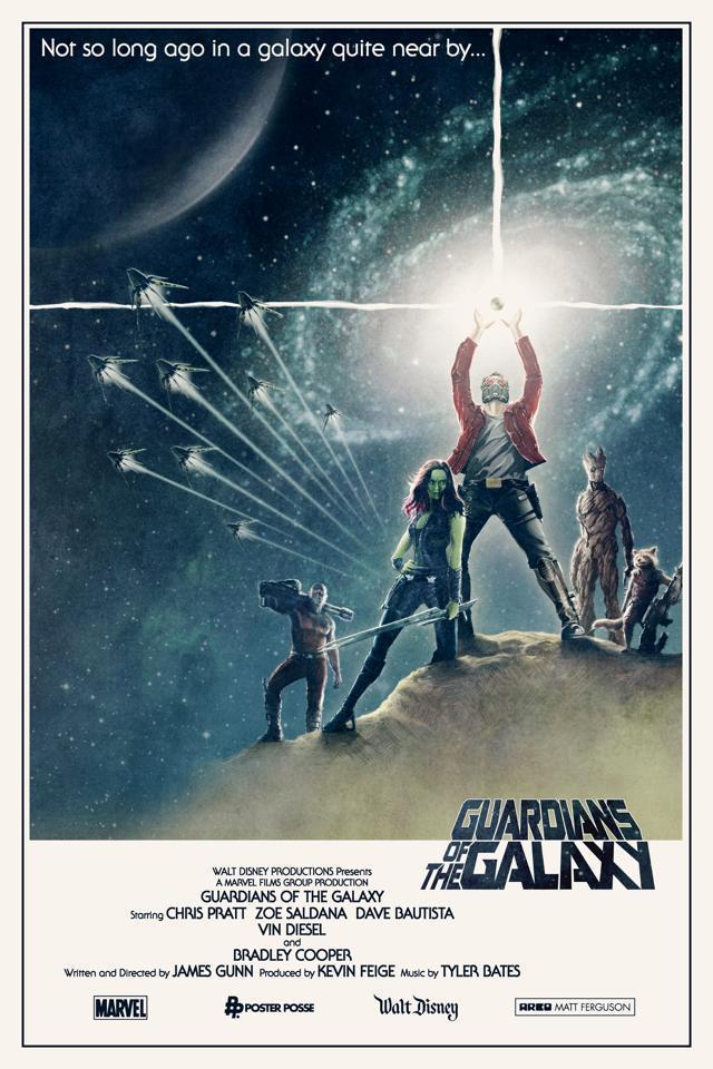 Стражи галактики, постер № 5