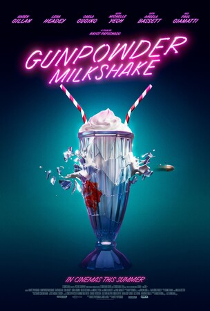 Постеры фильма «Пороховой коктейль»