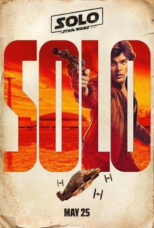 Постеры фильма «Хан Соло: Звёздные войны. Истории»