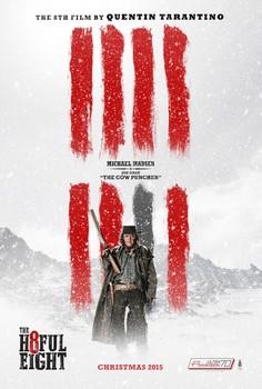 Постеры фильма «Омерзительная восьмёрка»