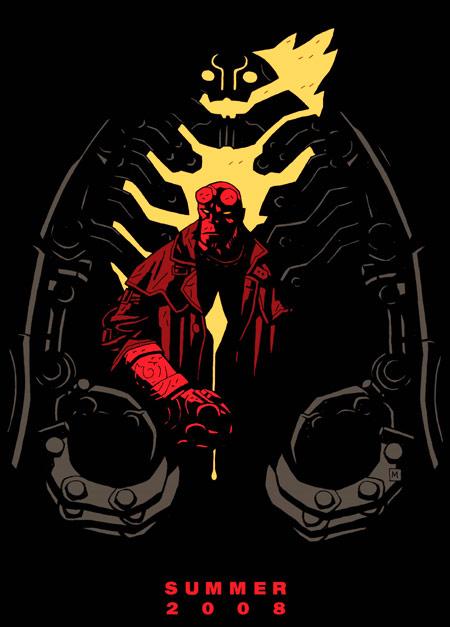 Хеллбой 2: Золотая армия, постер № 1