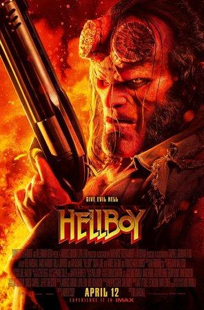 Постеры фильма «Хеллбой»