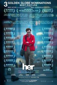 Постеры фильма «Она»