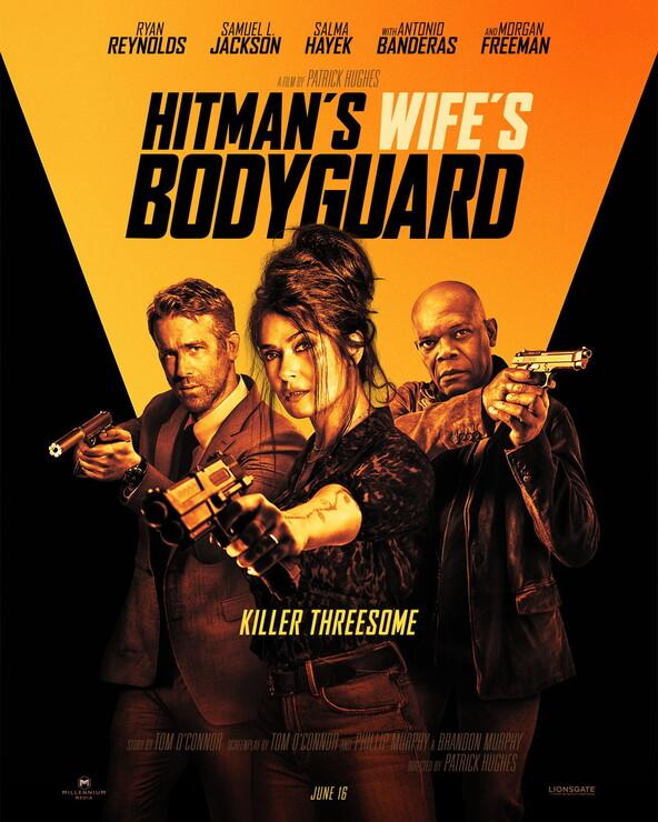 Постеры фильма «Телохранитель жены киллера»
