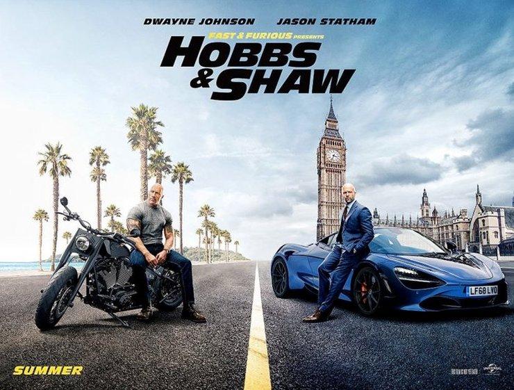 Постеры фильма «Форсаж: Хоббс и Шоу»