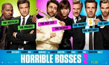 Постеры фильма «Несносные боссы 2»