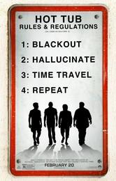 Постеры фильма «Машина времени в джакузи — 2»