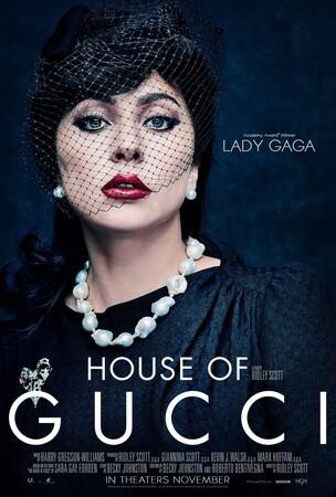 Постеры фильма «Дом Gucci»