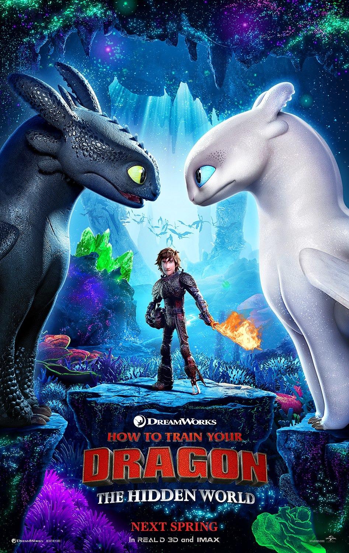 Как приручить дракона 3, постер № 1