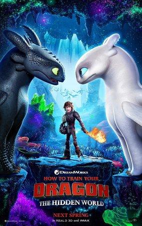 Постеры фильма «Как приручить дракона 3»