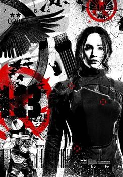 Постеры фильма «Голодные игры: Сойка-пересмешница. Часть 1»