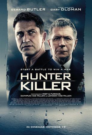 Постеры фильма «Хантер Киллер»