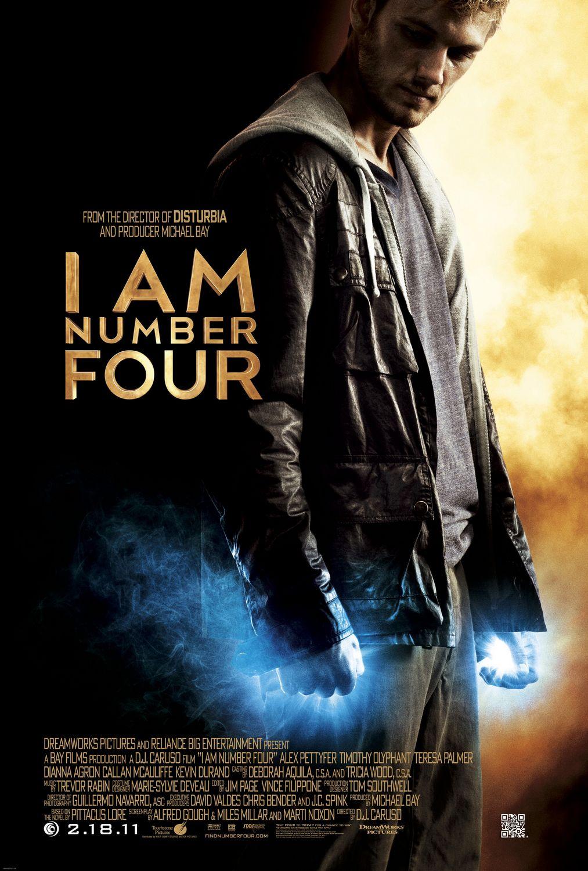 Я — четвёртый, постер № 1