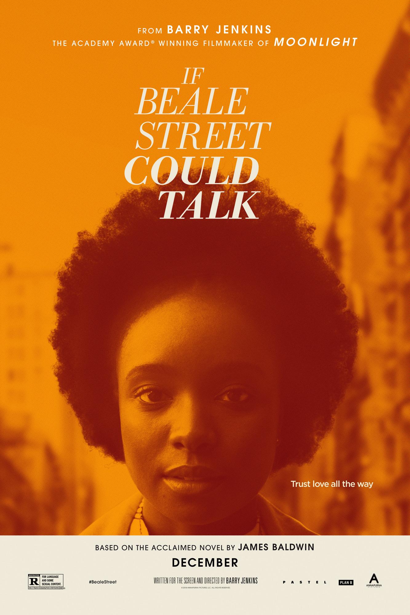 Если Бил-стрит могла бы заговорить, постер № 2