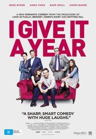 Постеры фильма «Даю год»