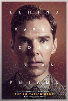 Постеры фильма «Игра в имитацию»