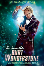 Постеры фильма «Невероятный Бёрт Уандерстоун»